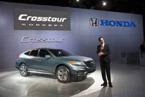 2013 Honda Crosstour Concept Reveal