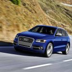 AUDI SQ5 WITH PETROL ENGINE