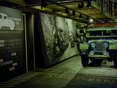 RECREATION OF LAND ROVER'S 1948 PRODUCTION LINE