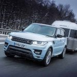 ICY TOWING TEST FOR RANGE ROVER SPORT HYBRID