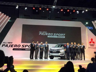 WORLD DEBUT OF THE NEW PAJERO SPORT