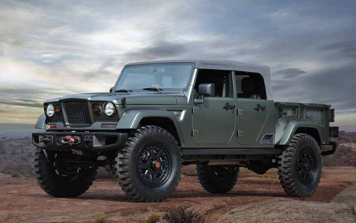 JEEP UNVEIL SEVEN CONCEPT VEHICLES BUILT FOR 50TH ANNUAL