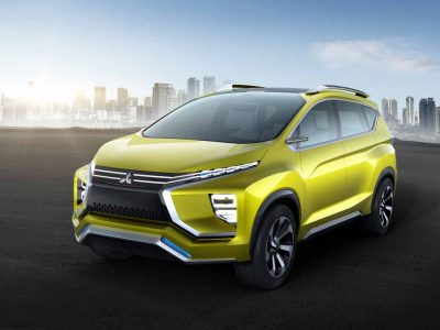 WORLD PREMIERE OF MITSUBISHI'S SMALL CROSSOVER MPV CONCEPT