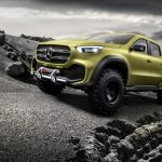 MERCEDES REVELAED ITS  FIRST PICKUP CONCEPT
